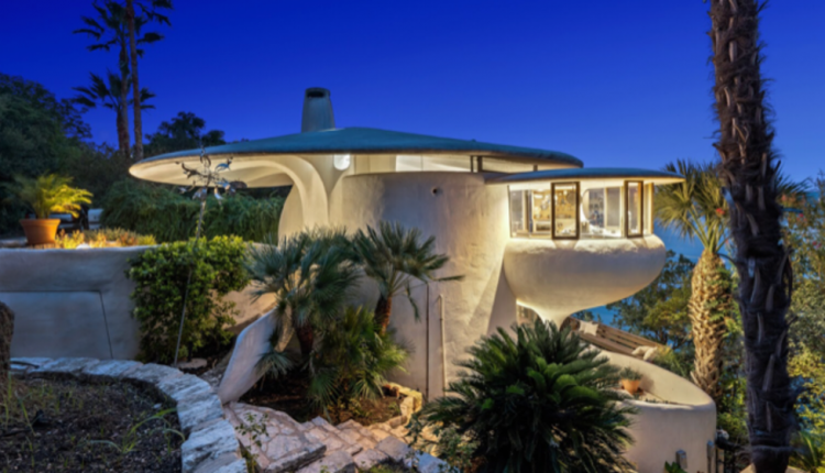 One of Austin's weirdest homes mushrooms onto the market for