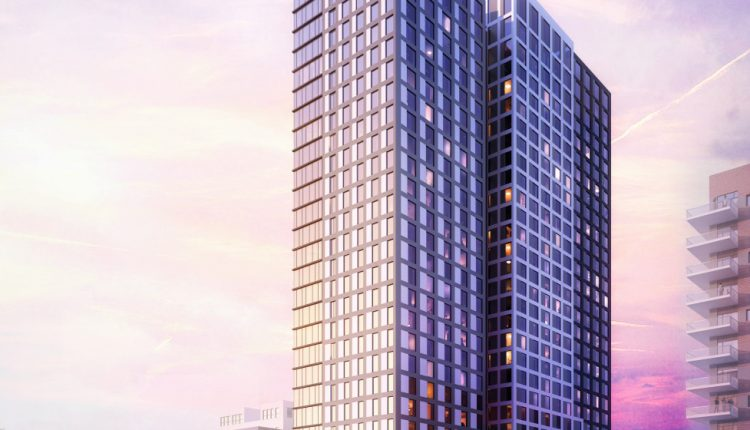 Austin's newest 30-story high-rise takes shape in West Campus